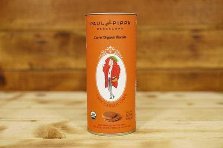 Paul & Pippa Organic Carrot Cake Biscuit 150g Pantry > Biscuits, Crackers & Crispbreads