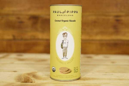 Paul & Pippa Organic Coconut Biscuit 150g Pantry > Biscuits, Crackers & Crispbreads