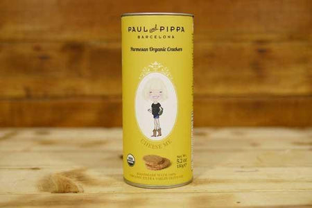 Paul & Pippa Organic Parmesan Cheese Biscuit 150g Pantry > Biscuits, Crackers & Crispbreads