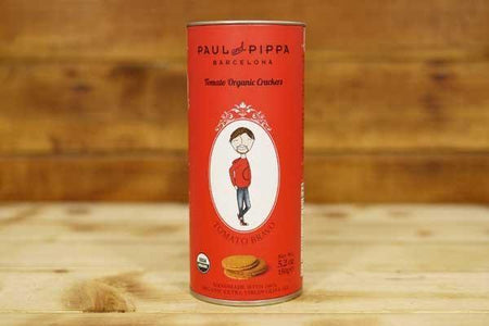 Paul & Pippa Organic Tomato Biscuit 150g Pantry > Biscuits, Crackers & Crispbreads