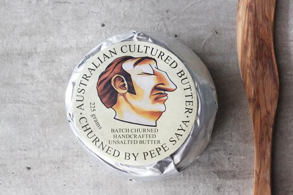 Pepe Saya Unsalted Cultured Butter 225g* Dairy & Eggs > Butter