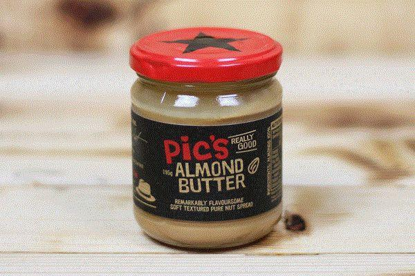 Pic's Peanut Butter Almond Butter 195g Pantry > Nut Butters, Honey & Jam