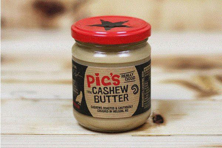 Pic's Peanut Butter Cashew Butter 195g Pantry > Nut Butters, Honey & Jam