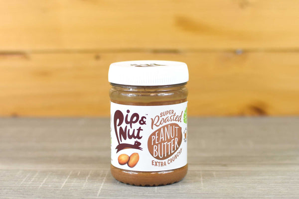 Pip & Nut Super Roasted Extra Crunchy Peanut Butter 225g Pantry > Nut Butters, Honey & Jam