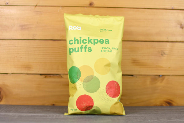 POD Chickpea Puffs Lemon Lime & Chilli 90g Pantry > Crackers & Crispbreads