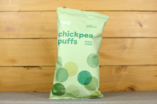 POD Chickpea Puffs Mixed Herbs 90g Pantry > Crackers & Crispbreads