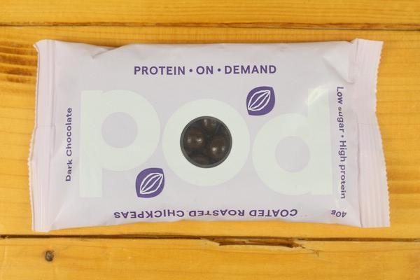 POD Dark Chocolate Coated Roasted Chickpeas 40g Pantry > Pantry > Chips & Savoury Snacks