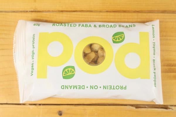 POD Lemon & Thyme Roasted Bean Mix 40g Pantry > Pantry > Chips & Savoury Snacks