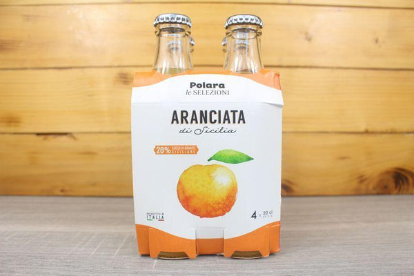 Polara Polara Aranciata Multipack 4 x 200ml Drinks > Soft Drinks & Mixers