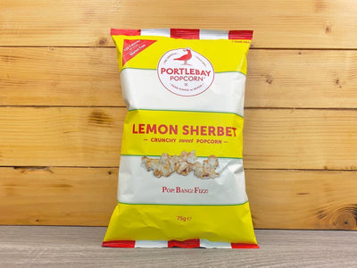Portlebay Popcorn Lemon Sherbert Portlebay Popcorn 75g Pantry > Cookies, Chips & Snacks