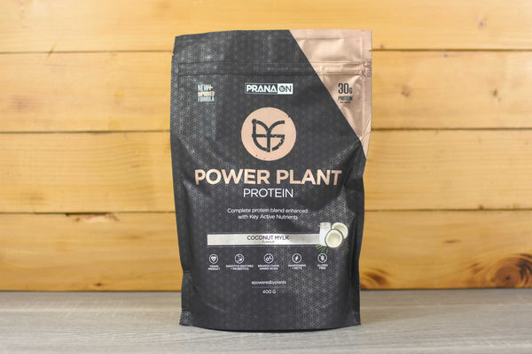 PranaOn Coconut Power Plant Protein Powder 400g Pantry > Protein Powders & Supplements