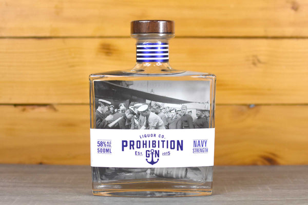 Prohibition Prohibition Navy Strengh Gin 500m Alcohol > Spirits