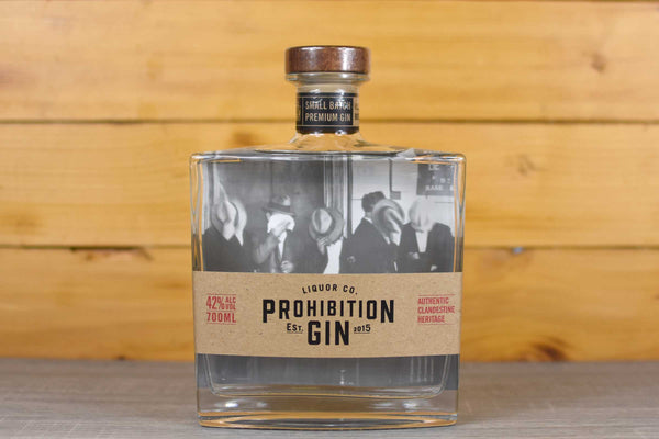 Prohibition Prohibition Original Gin 700ml Pantry > Antipasto, Pickles & Olives