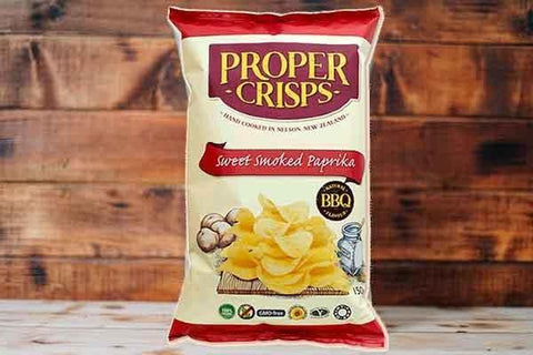 Proper Crips Smoked Paprika Crisps 150g Pantry > Cookies, Chips & Snacks