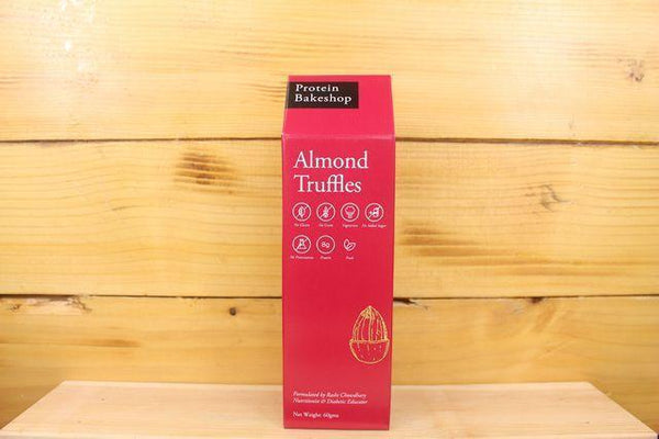 Protein Bakeshop Almond Truffles 60g Pantry > Granola, Cereal, Oats & Bars