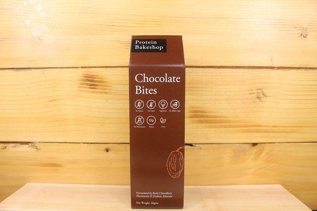 Protein Bakeshop Chocolate Bites 60g Pantry > Granola, Cereal, Oats & Bars