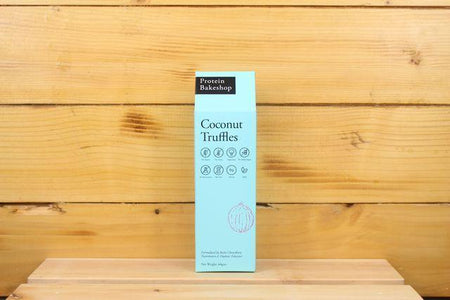 Protein Bakeshop Coconut Truffles 60g Pantry > Granola, Cereal, Oats & Bars