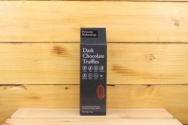 Protein Bakeshop Dark Chocolate Truffles 60g Pantry > Granola, Cereal, Oats & Bars