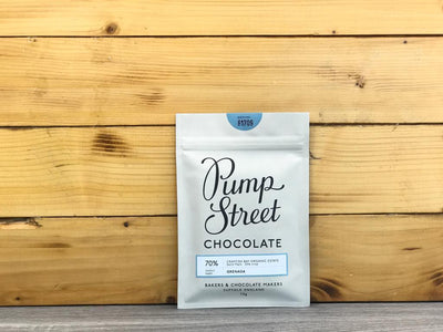 Pump Street Chocolate Grenada Crayfish Bay Organic Estate 70% 70g Pantry > Confectionery