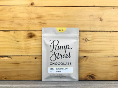Pump Street Chocolate Jamaica Bachelor's Hall Estate 75% 70g Pantry > Confectionery