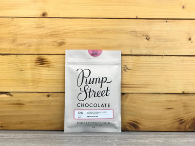 Pump Street Chocolate Madagascar Akesson Organic Estate 72% 70g Pantry > Confectionery