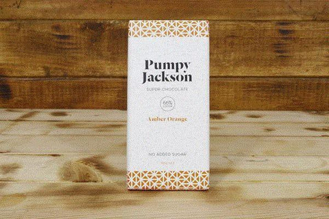 Pumpy Jackson Amber Orange Super Chocolate 90g Pantry > Confectionery