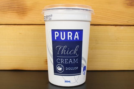Pura Pura TC Dollop 300ml Dairy & Eggs > Other Creams & Cheeses