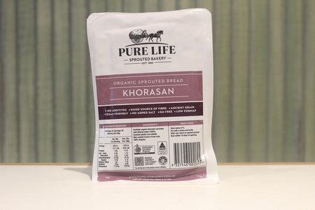 Pure Life Bakery Organic Sprouted Bread Khorasan 1kg Bakery > Bread