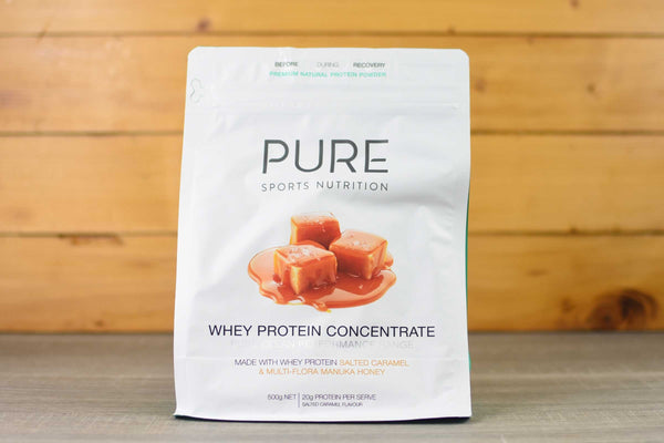 Pure Sports Nutrition Pure Organic Salted Caramel Whey Protein 500g Pantry > Protein Powders & Supplements