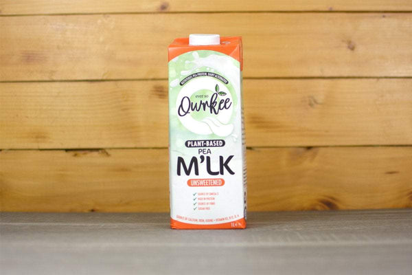 Qwrkee Unsweetened Pea Milk 1L Drinks > Dairy Alternatives