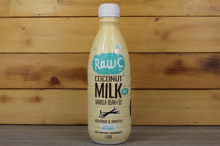 Raw C Coconut Milk 1L - Vanilla Drinks > Milks & Dairy Alternatives