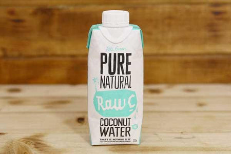 Raw C Natural Coconut Water 330ml Drinks > Juice, Smoothies & More