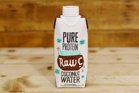 Raw C Protein & Cacao Coconut Water 330ml Drinks > Juice, Smoothies & More