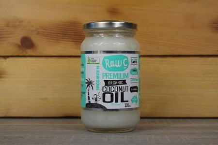 Raw C Raw C Organic Virgin Coconut Oil 330ml Pantry > Dressings, Oils & Vinegars