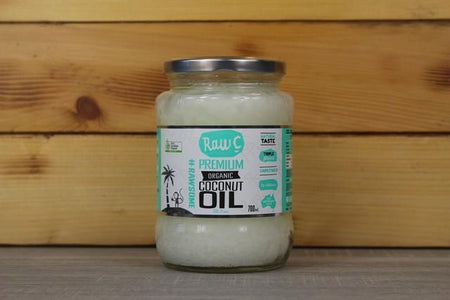 Raw C Raw C Organic Virgin Coconut Oil 700ml Pantry > Dressings, Oils & Vinegars