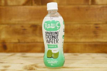Raw C Sparkling Coconut Water Straight Up 400ml Drinks > Water