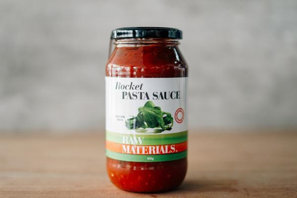 Raw Materials Rocket Pasta Sauce 500g Pantry > Pasta, Sauces & Noodles