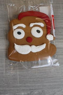 Raw Materials Santa Face Iced Gingerbread 70g Pantry > Biscuits, Crackers & Crispbreads