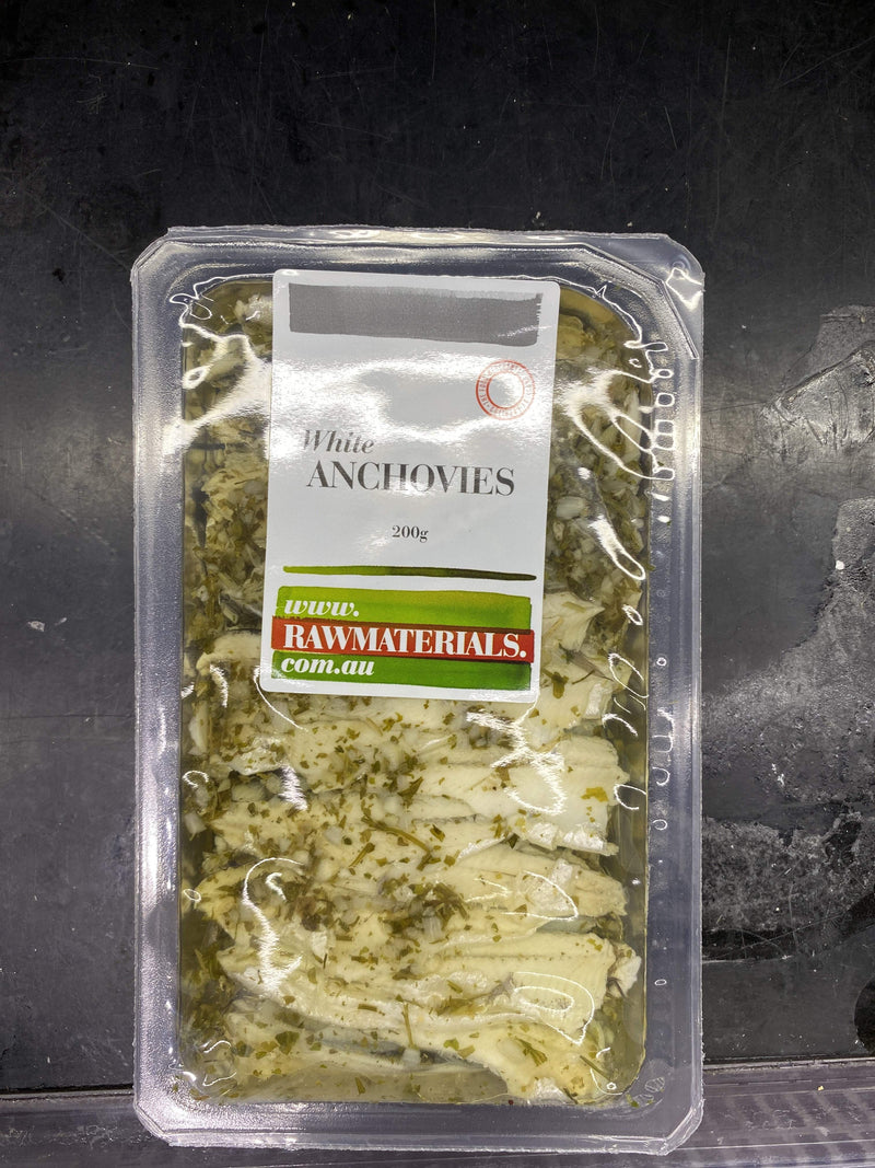 Raw Materials White Anchovies 200g Pantry > Canned Goods