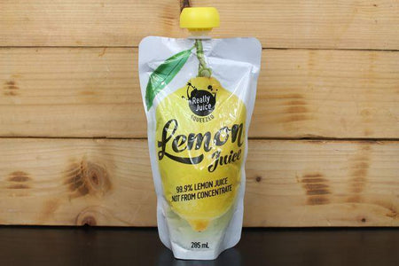 Really Juice Really Juice Squeezed Lemon Juice 285ml Pantry > Juice, Smoothies & More