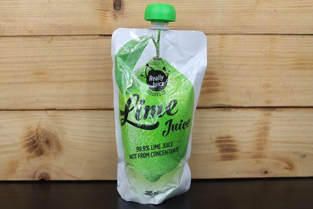 Really Juice Really Juice Squeezed Lime Juice 285ml Pantry > Juice, Smoothies & More