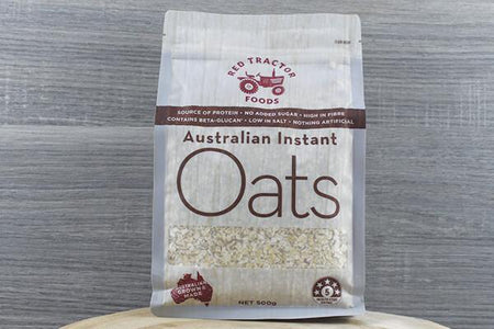 Redtrac Redtrac Aus Instant Oats 500g Pantry > Granola, Cereal, Oats & Bars