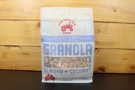 Redtrac Redtrac Bake Granola Almond Coconut 300g Pantry > Granola, Cereal, Oats & Bars