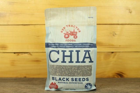 Redtrac Chia Black Seeds 500g