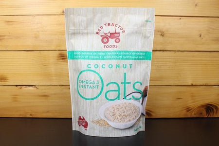 Redtrac Redtrac Foods Coconut Omega 3 Instant Oat Pantry > Granola, Cereal, Oats & Bars