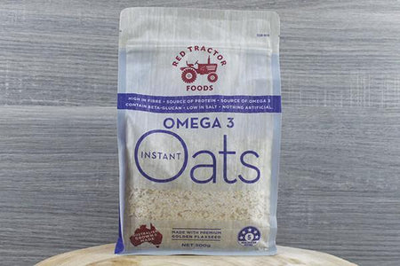 Redtrac Redtrac Omega 3 Instant Oats 500g Pantry > Granola, Cereal, Oats & Bars