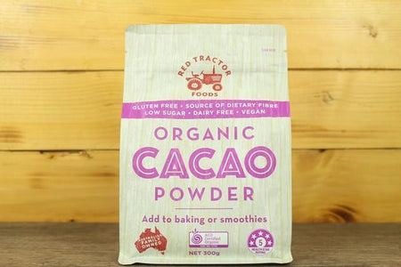 Redtrac Redtrac Org Cacao Powder 300g Pantry > Drink Mixers & More