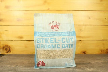 Redtrac Redtrac Steel Cut Org Oats 850g Pantry > Granola, Cereal, Oats & Bars