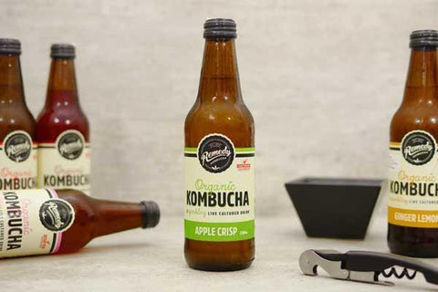 Apple Crisp Organic Kombucha  750ml
