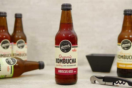 Remedy Kombucha Hibiscus Kiss 330ml Drinks > Juice, Smoothies & More